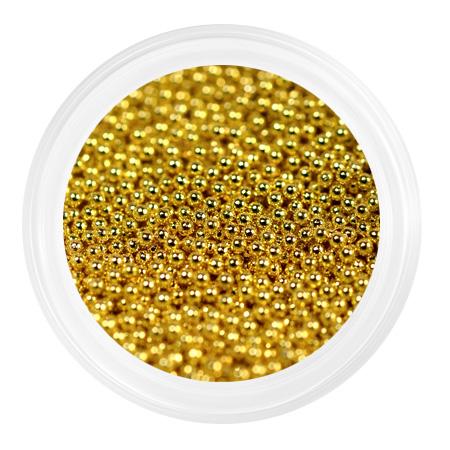 Купить Бульонки металлические мелкие 0, 6мм Золото, Patrisa-nail