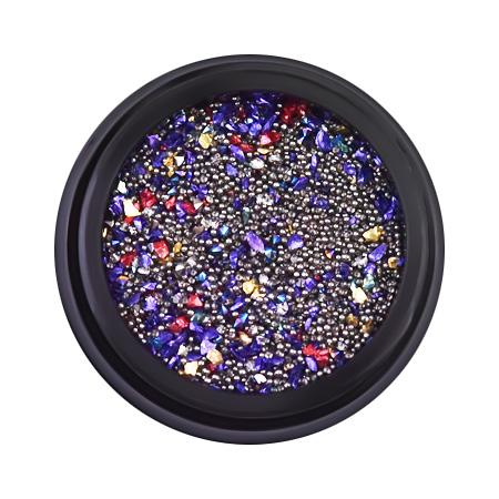 Купить Микс для дизайна в баночке, мелкие камешки, пикси, бульонки, 12 гр, Patrisa-nail