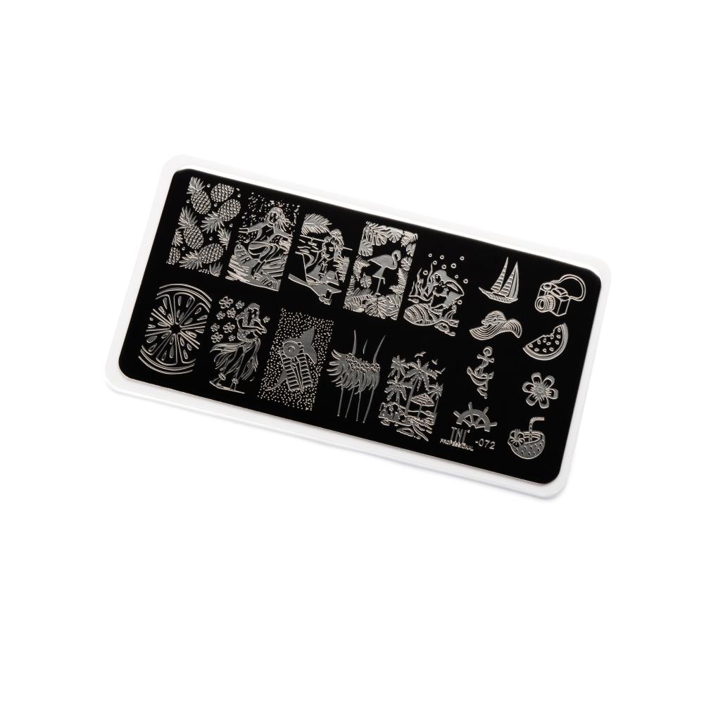 Купить Пластина для стемпинга TNL Premium - Life (10)