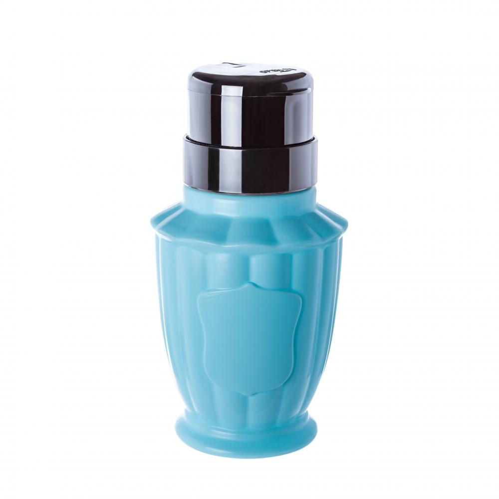 Купить Пластиковый дозатор кубок (помпа 200 мл.) голубой, TNL
