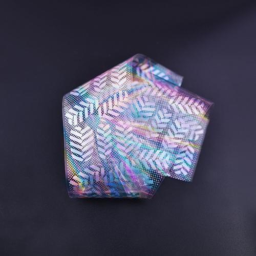 Купить Фольга для литья №46 орнамент серебро голография, Patrisa-nail