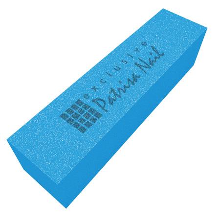 Купить Шлифовочный блок неоновый голубой 180/240, Patrisa-nail