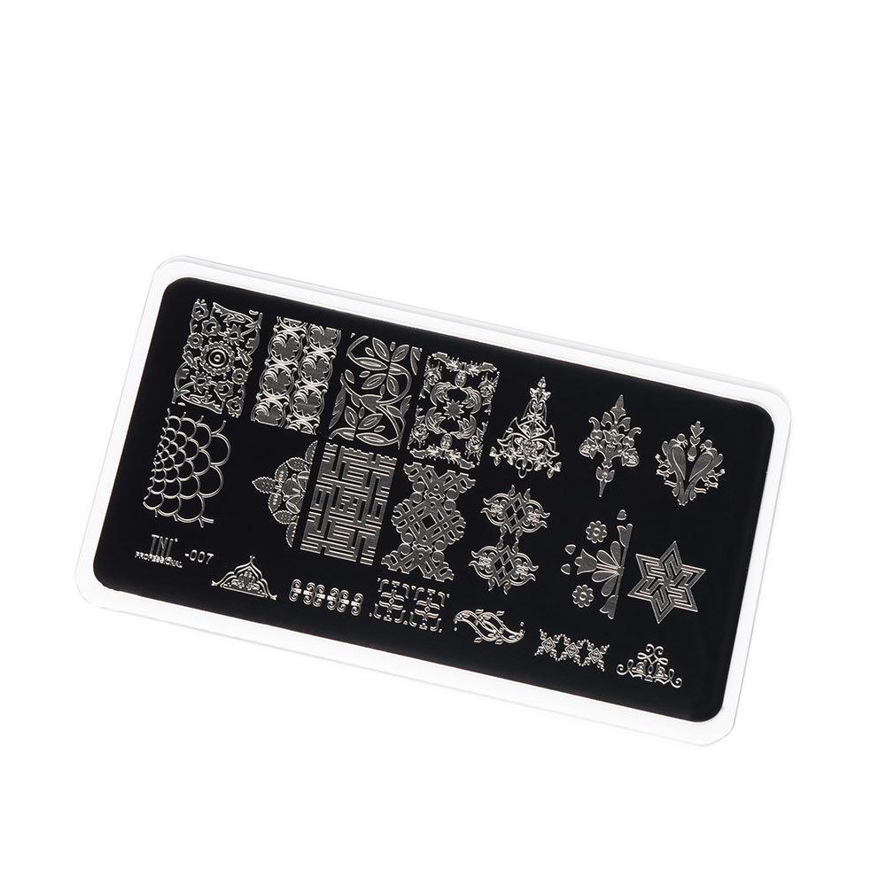 Купить Пластина для стемпинга TNL Premium - орнаменты (7)